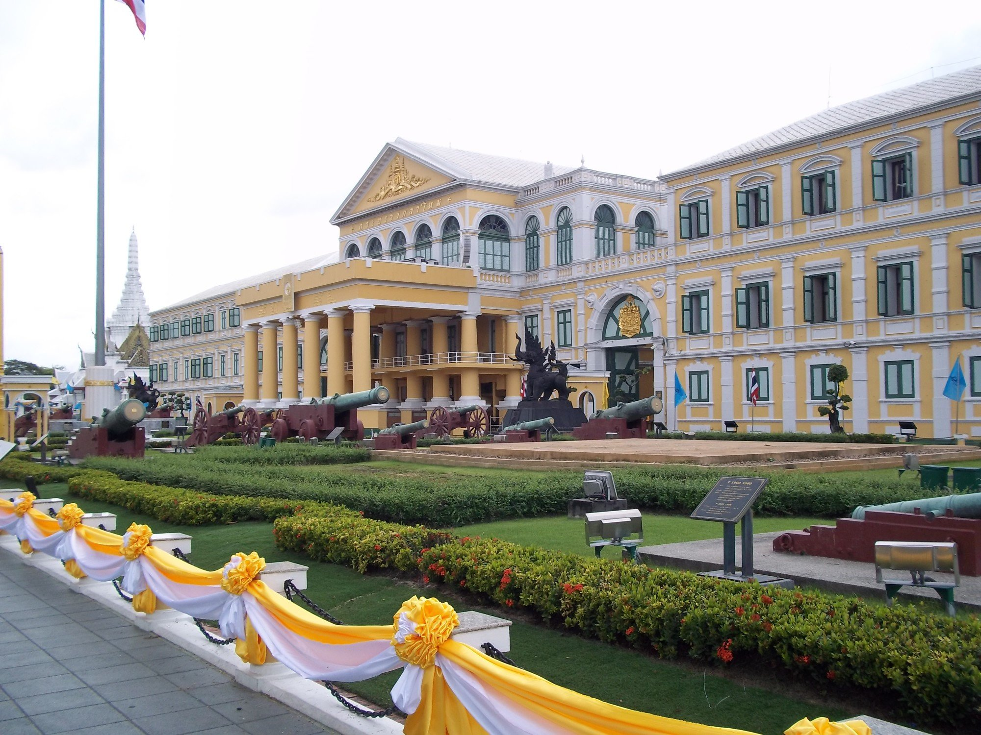 Ministry of Defence Building in Bangkok