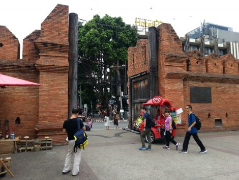 Thae Pae Gate in Chiang Mai's Old City area