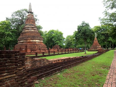 Wat Pha That in Kamphaeng Phet