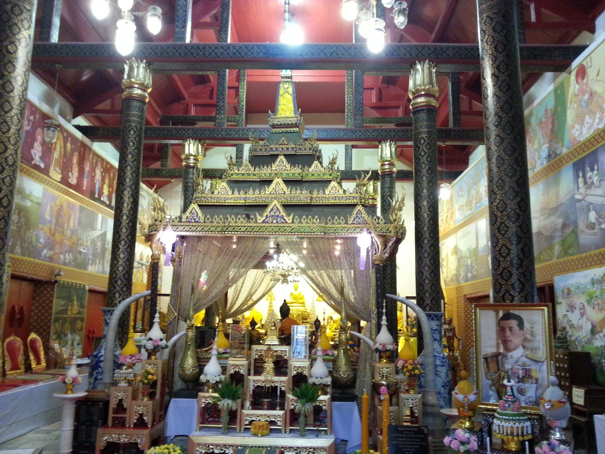 Wat Phra Thaen Si La At in Uttaradit