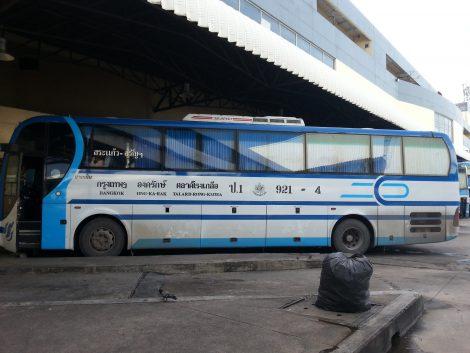 Bangkok to Aranyaprathet Bus