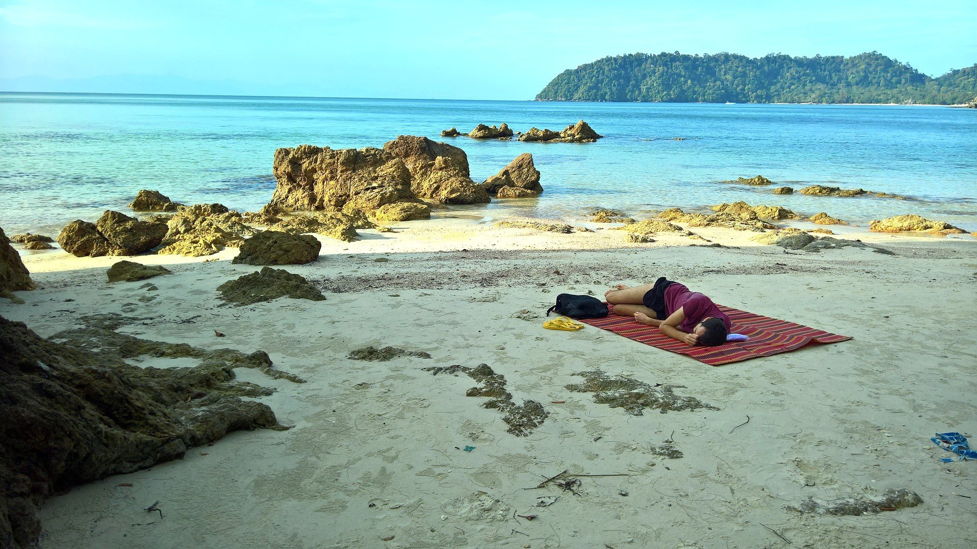Beach in Koh Phayam