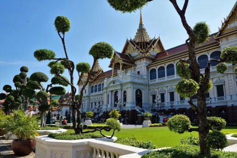 Chakri Maha Prasat Palace in Bangkok