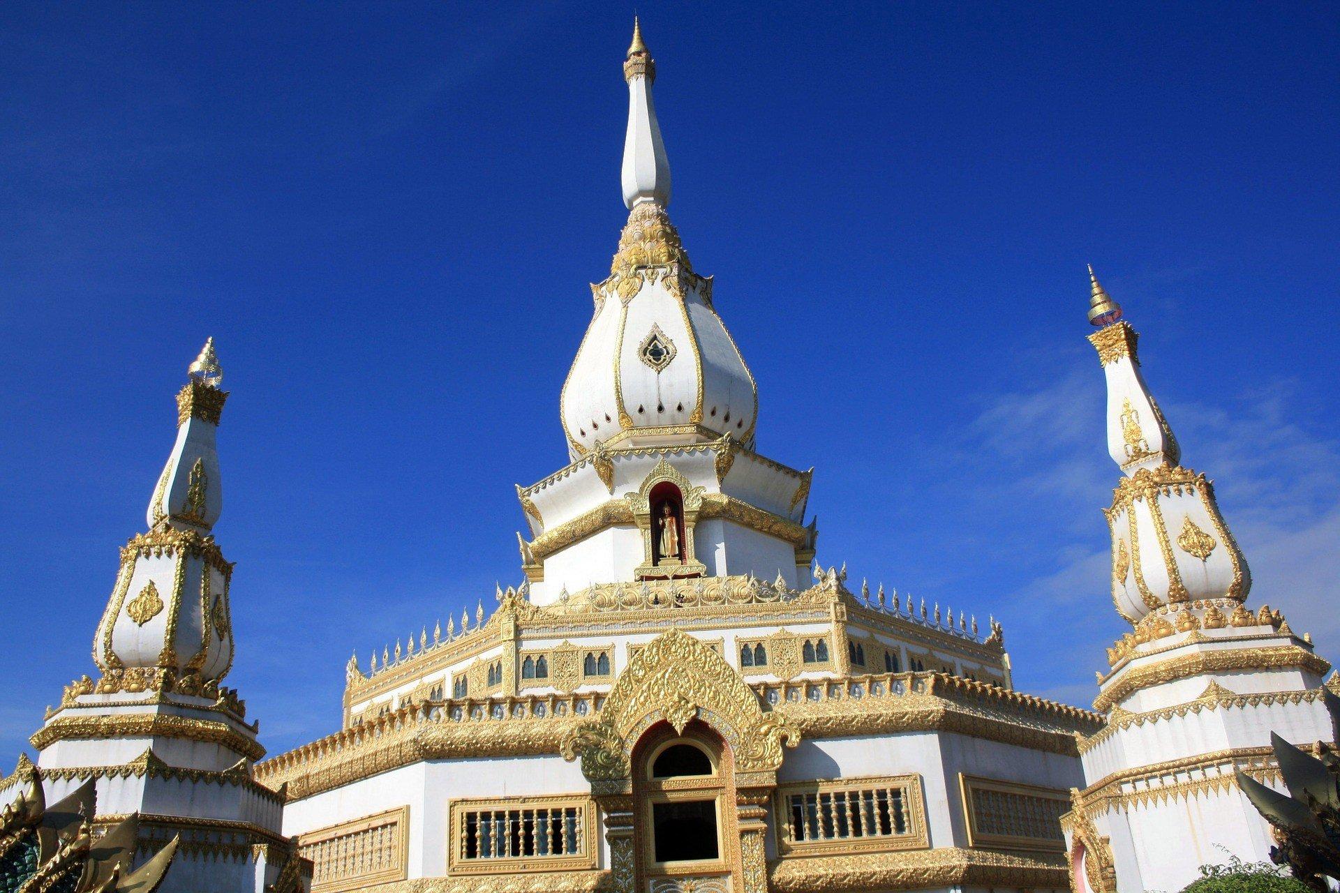 Phra Maha Chedi Chai Mongkol in Roi Et