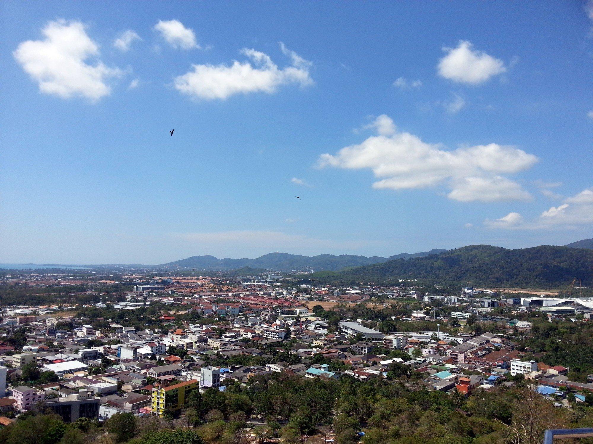 Rang Hill Viewpoint in Phuket