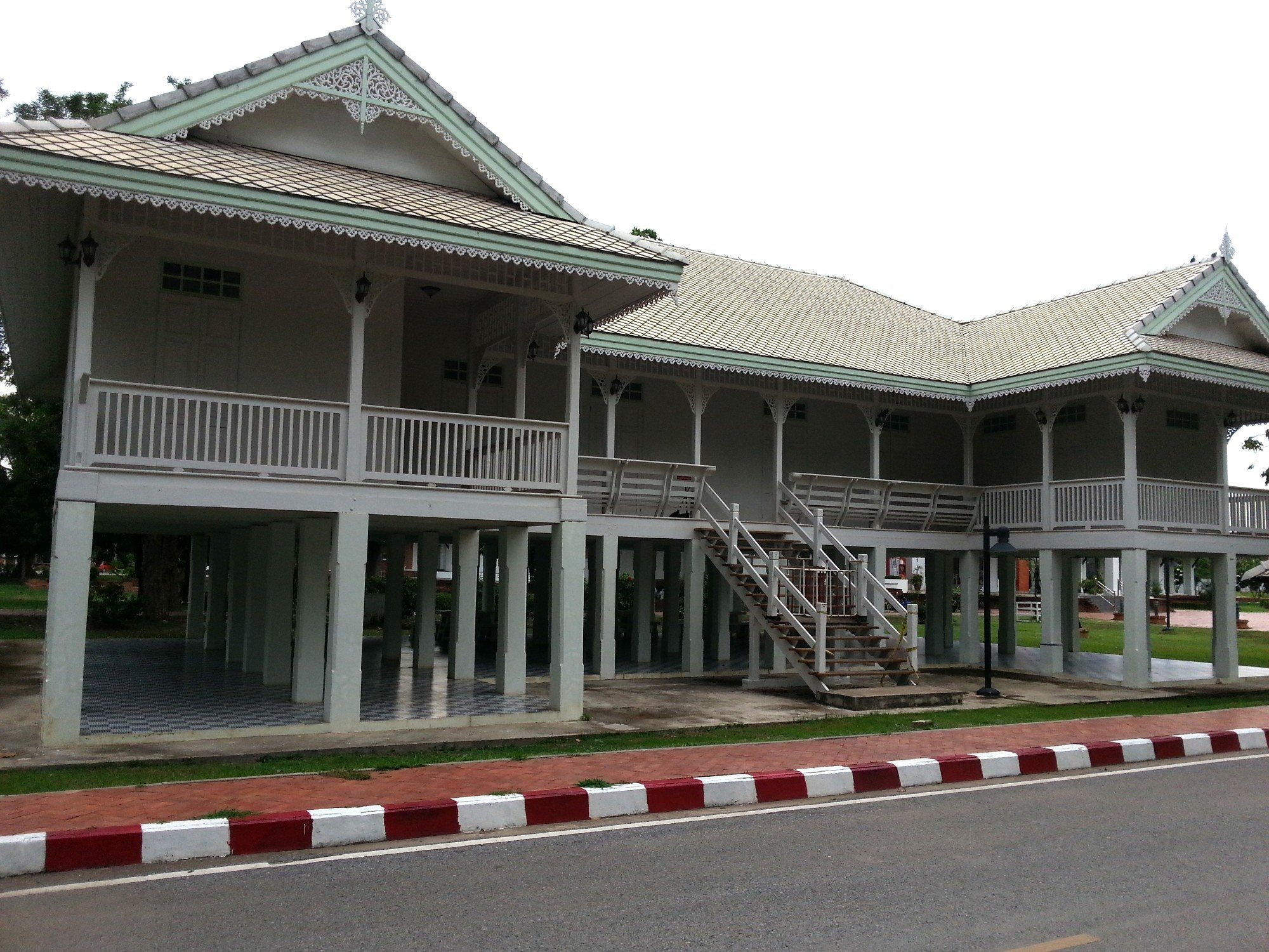 Reconstruction of the Chan Palace in Phitsanulok
