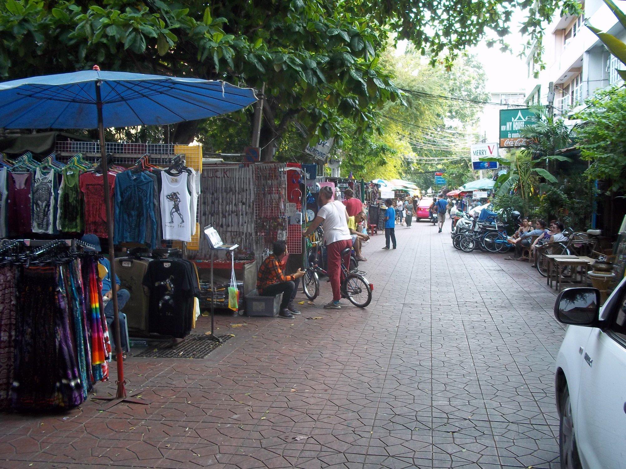 Soi Rambutri in Bangkok