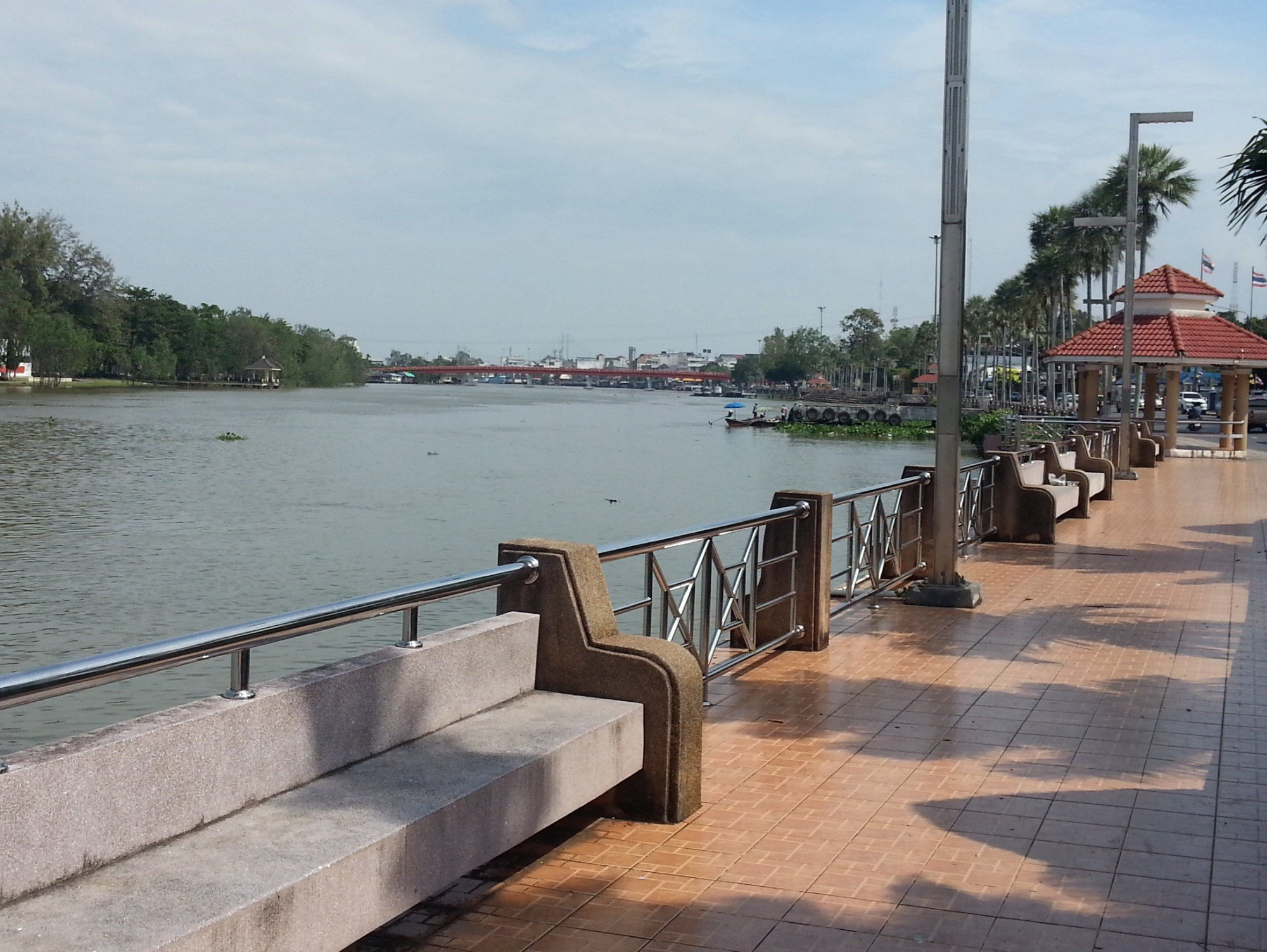 Tapee River in Surat Thani