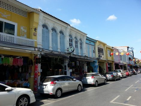 Thalang Road in Phuket