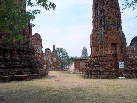 Wat Ratchaburana in Ayutthaya Historical Park