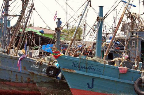 Fishing boats in Ranong