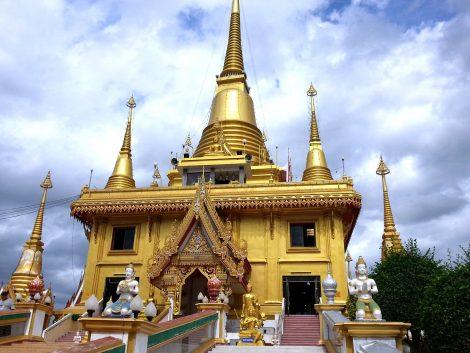 Phra Chulamanee Chedi in Nakhon Sawan