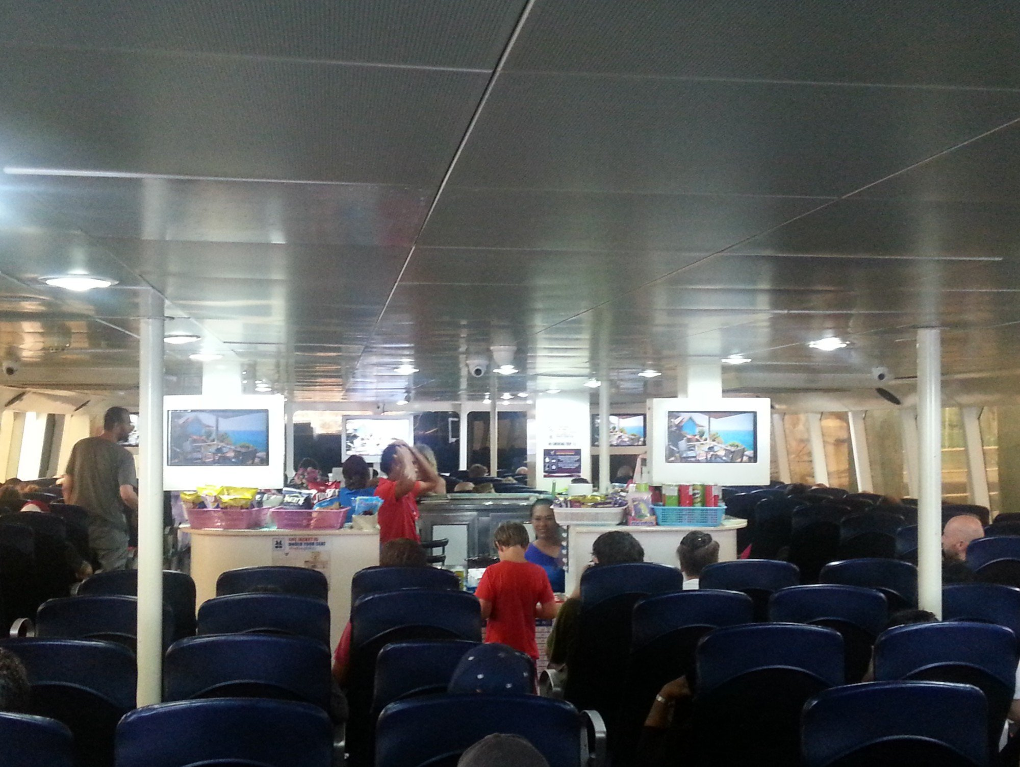 Shop on the Lomprayah Ferry