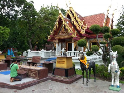 Taksin Maharat Shrine in Tak