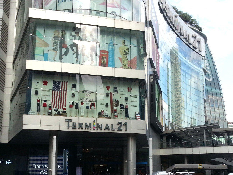 Terminal 21 in Bangkok