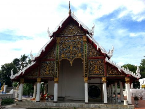Wat Phra Kaew Don Tao in Lampang