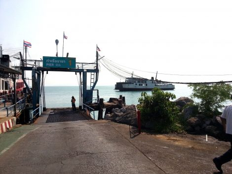 Raja Ferry Port in Donsak