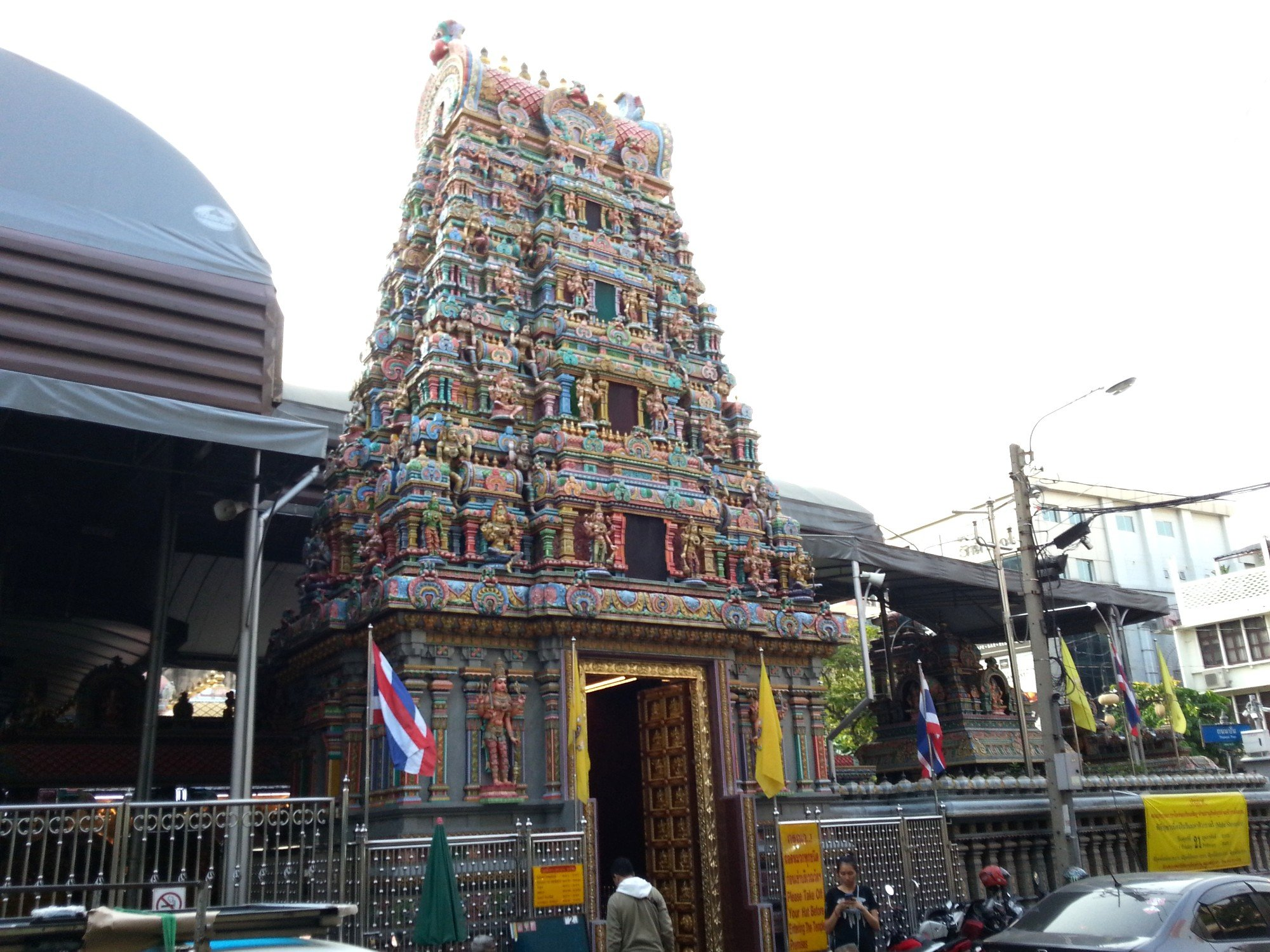 Sri Maha Mariamman Temple in Bangkok