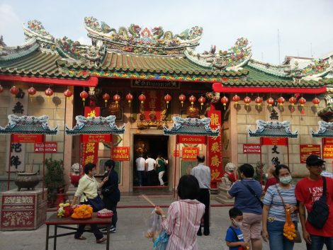 Wat Mangkon Kamalawat in Bangkok