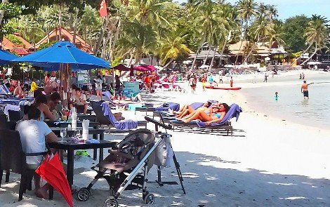 Chaweng Beach on Koh Samui