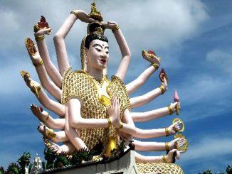 Wat Plai Laem in Koh Samui