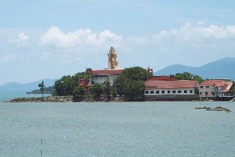 Wat Phra Yai in Koh Samui