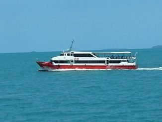 Seatran Discovery Ferry on route to Koh Tao