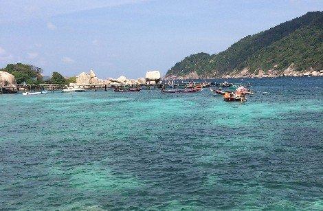 Clear seas around Koh Tao