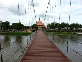 Rattanakosin 200 Year Anniversary Bridge in Tak