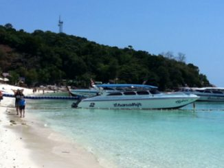 Joint speed boat and bus services to Hat Yai depart from Pattaya Beach