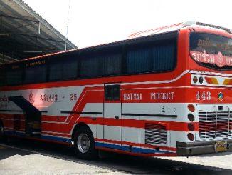 Phuket to Hat Yai Bus