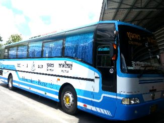 Bus service from Chumphon to Hat Yai
